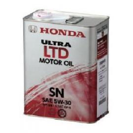 HONDA, ULTRA LTD 5W-30 SN, 4 литра, 0821899974, Моторные масла