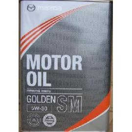 MAZDA, GOLDEN 5W-30 SM, 4 литра, K004-W0-512J, Моторные масла