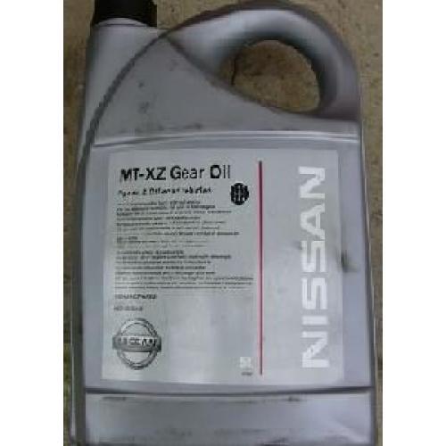 NISSAN, MT-XZ 75W-80 GL-4+ (EU), 5 литров