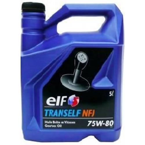 RENAULT, TRANSELF NFJ 75W-80 GL-4+, 5 литров