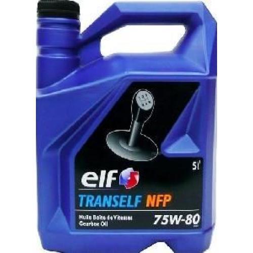 RENAULT, TRANSELF NFP 75W-80 GL-4+, 5 литров