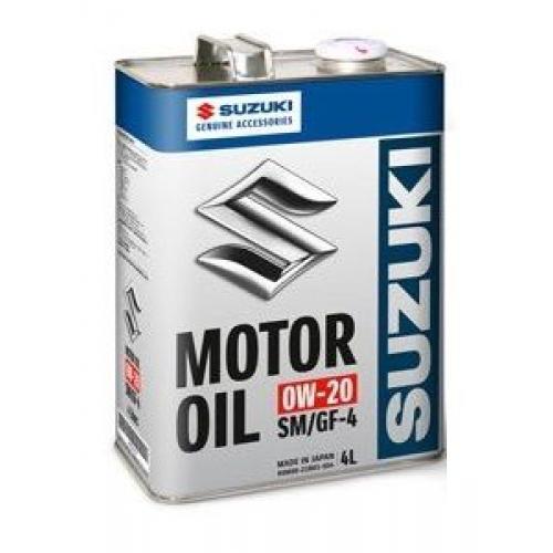 SUZUKI, 0W-20 SM/GF-4, 4 литра